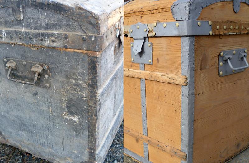 Aérogommage de mobilier et objets en bois  meubles  ~ Sablage Porte Bois