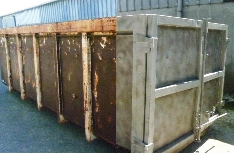 sablage de poutres charpentes en bois murs en pierre structures m talliques nantes angers. Black Bedroom Furniture Sets. Home Design Ideas